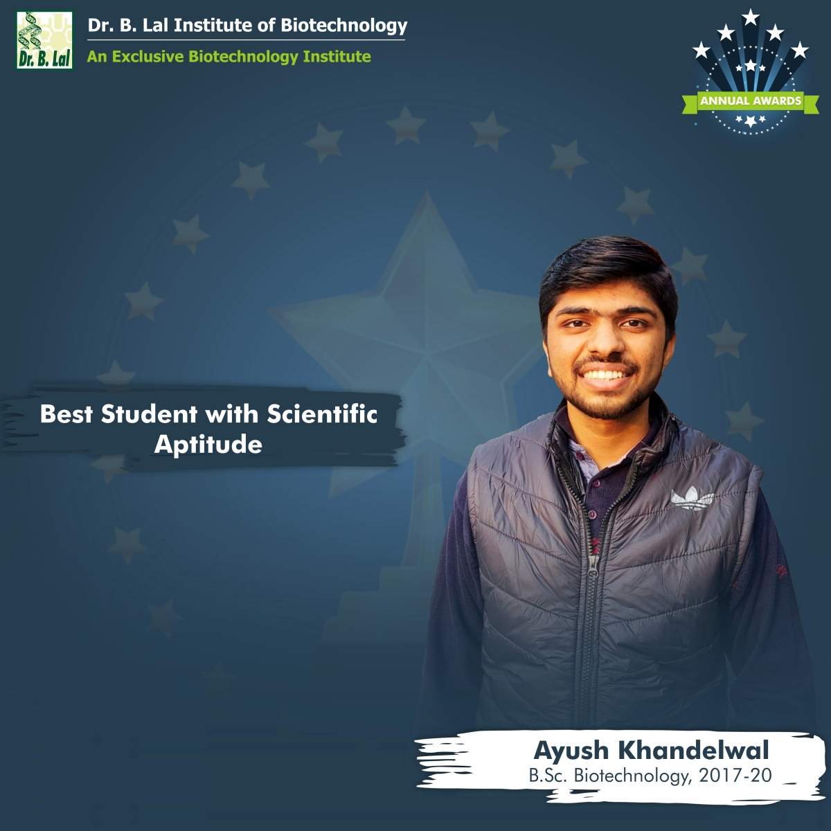 Best Student with Scientific Aptitude | Annual Awards