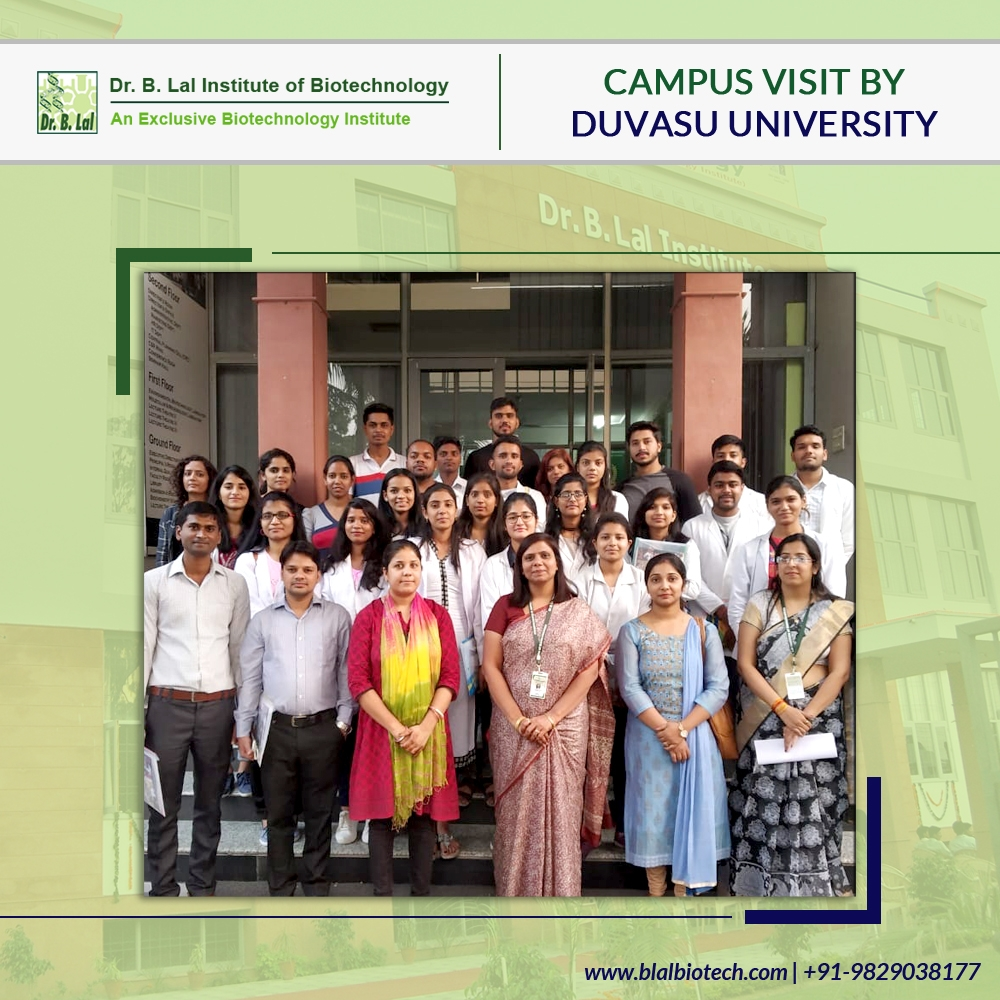 Campus Visit By Duvasu University, Mathura