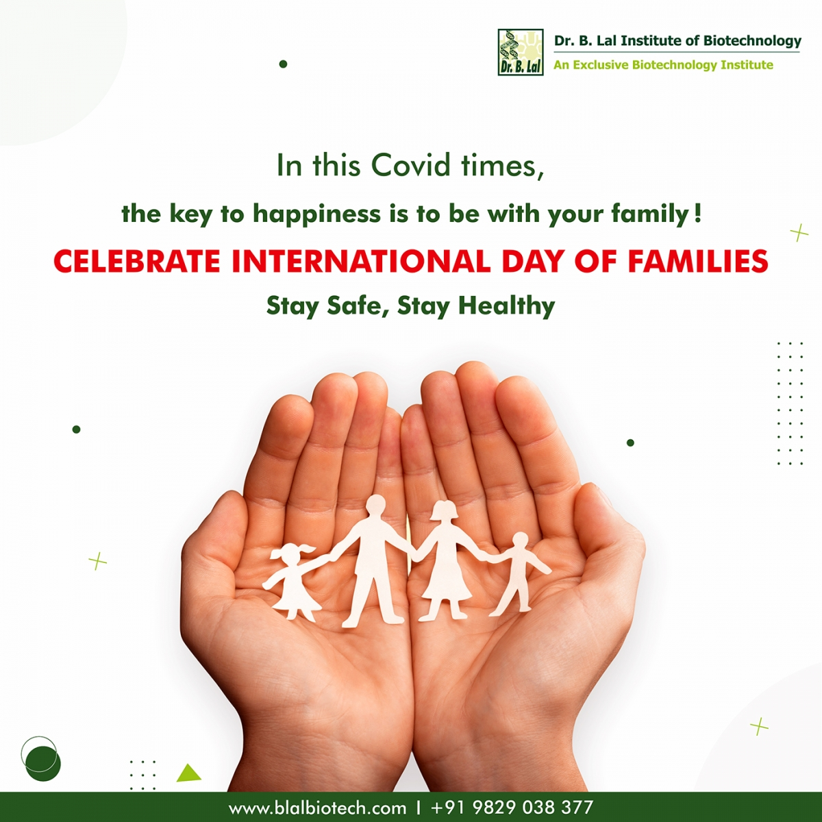 Happy International Day of Families
