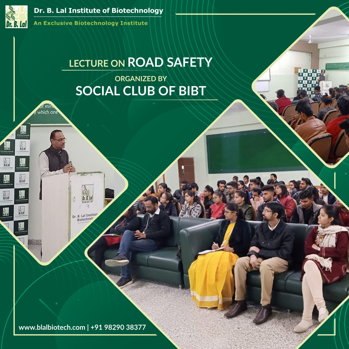 """Guest lecture on """"Road Safety"""""""