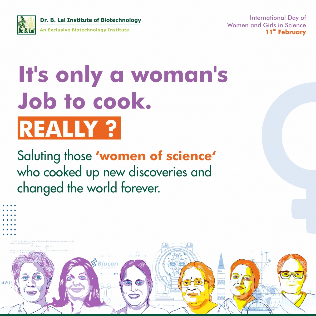 International Day of Women and Girls in Science | 11th February
