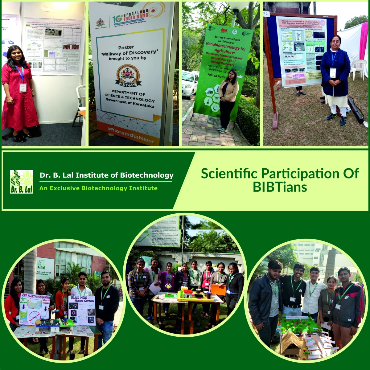 Scientific Participation Of BIBTians