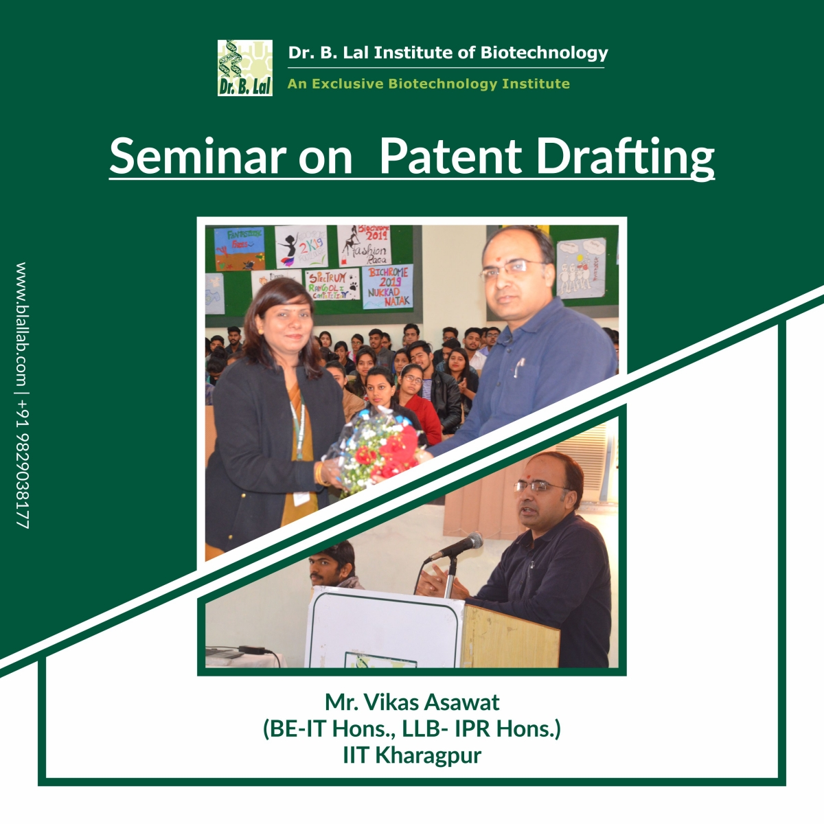 Seminar On Patent Drafting