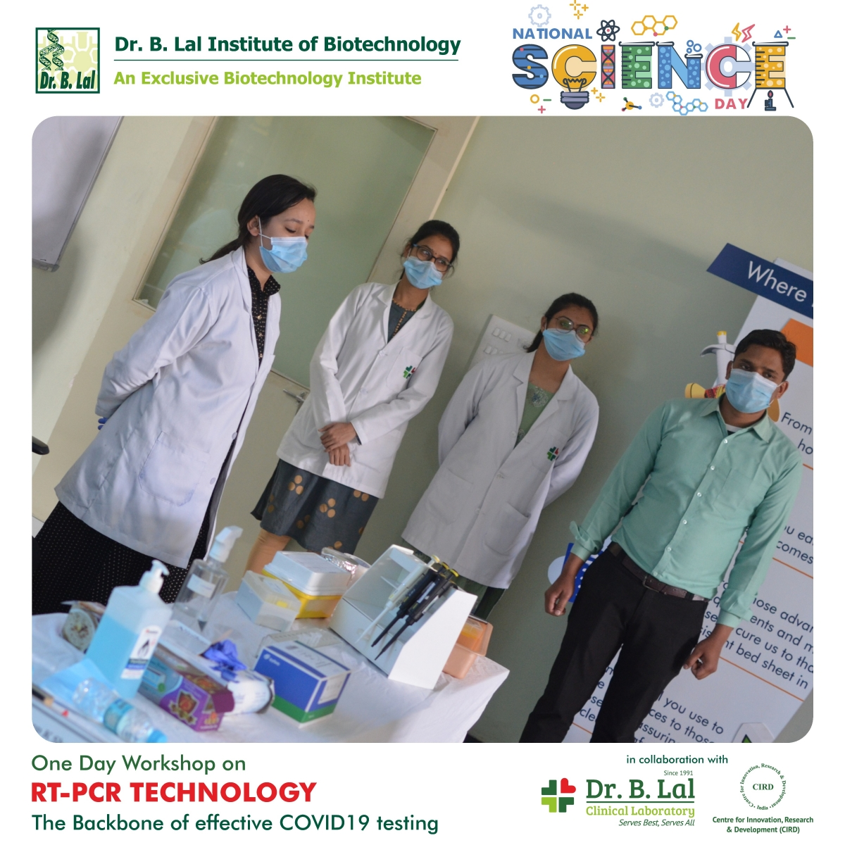 One day workshop on RT-PCR Technology