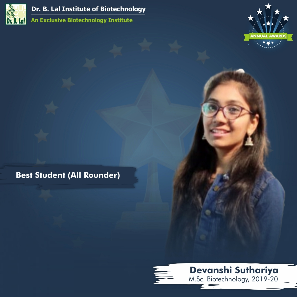 Best Student (All-Rounder) | Annual Awards