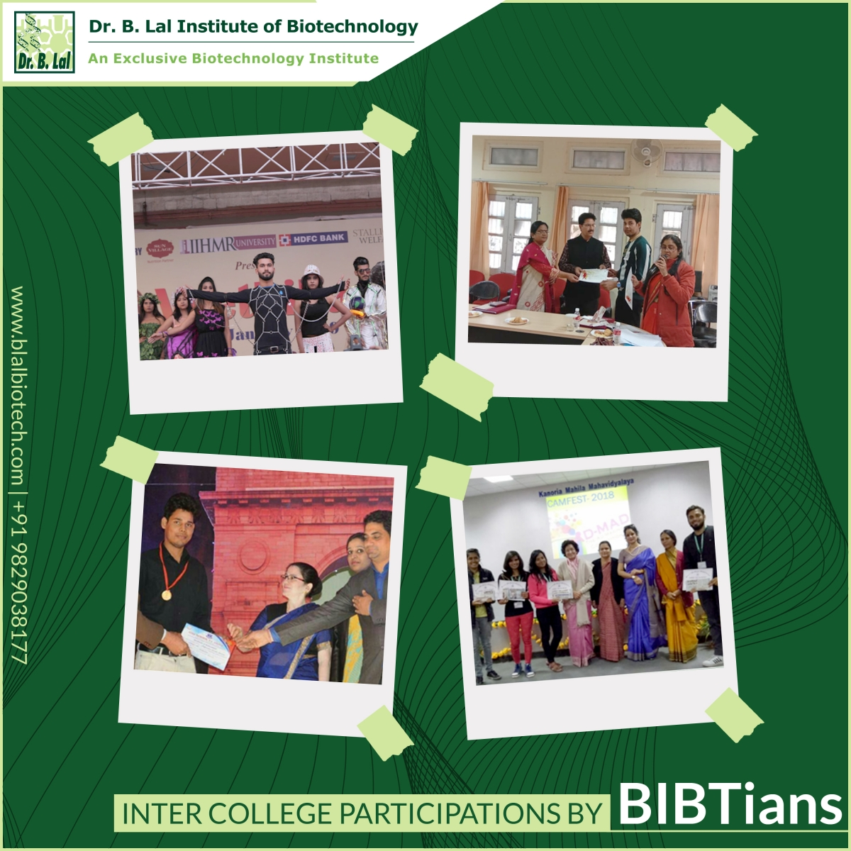 Inter College Participation By BIBTians