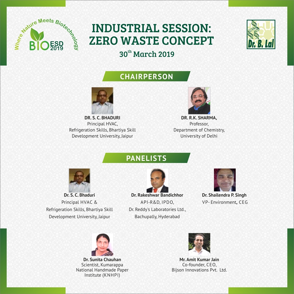 Industrial Session - Zero Waste Concept | BioESD2019