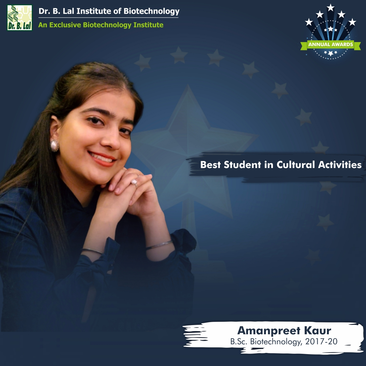 Best Student in Cultural Activity | Annual Awards