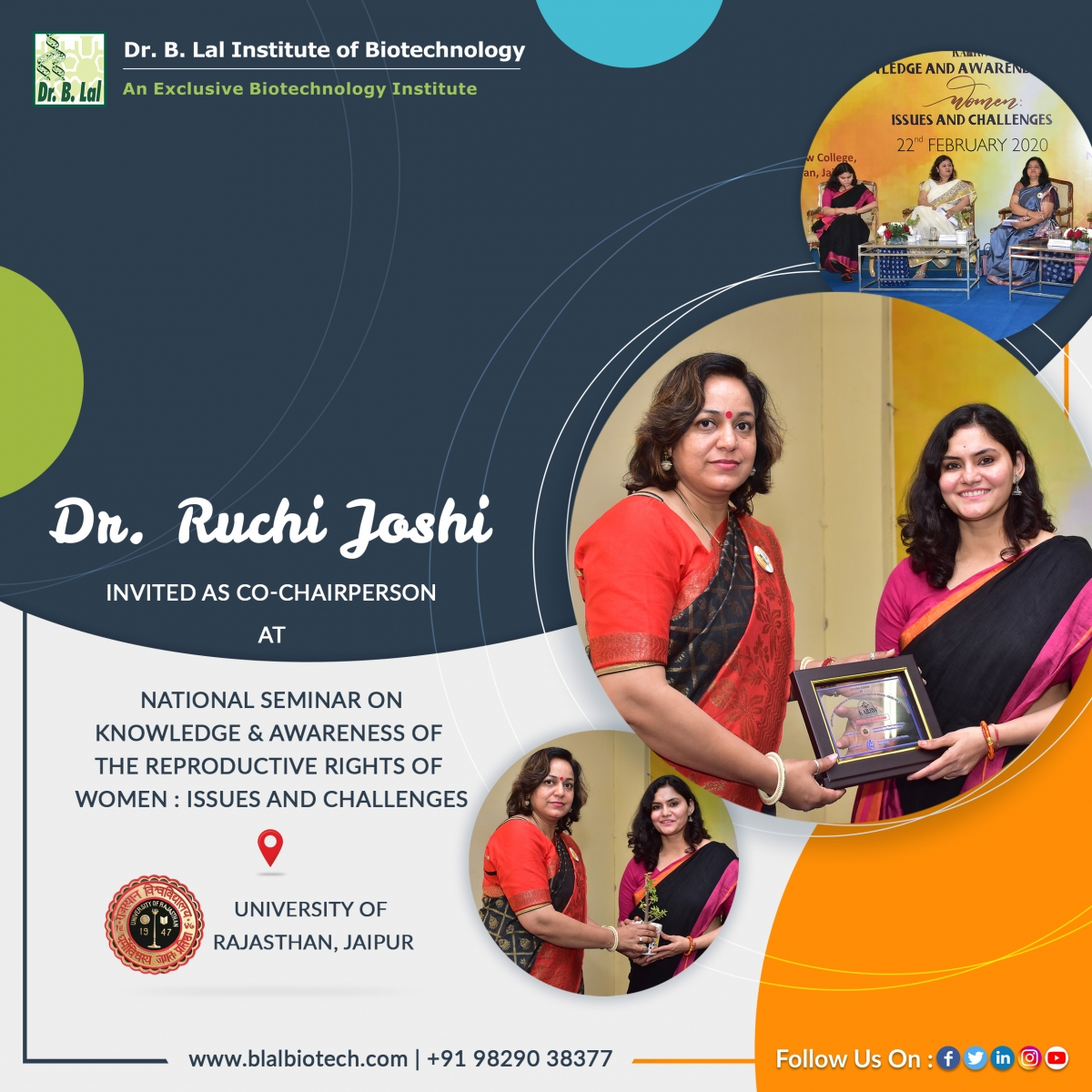 """Dr. Ruchi Joshi 